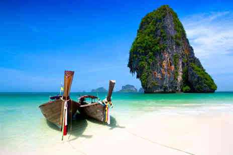 World2Travel - Ten nights Phuket, Phi Phi and Krabi holiday with breakfast, ferry transfers, one massage, one Thai dinner and return flights - Save 25%