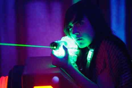 Superbowl UK Laser - Three Games of Laser Tag for Up to Six - Save 41%
