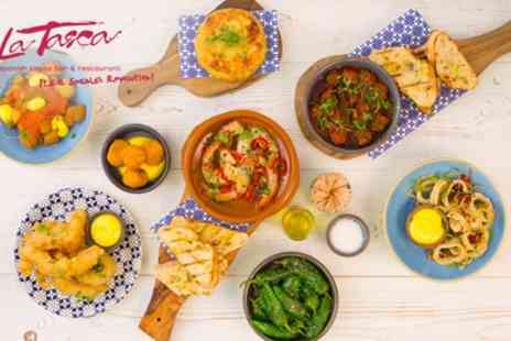 La Tasca - £30 or £50 Toward Spanish Food - Save 50%