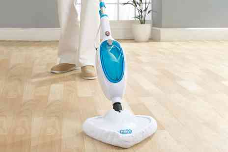 Groupon Goods Global GmbH - Easy Steam 1300W Steam Mop with Two Pads - Save 0%