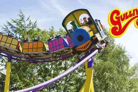 Gullivers Theme Parks - Family pass members only Gullivers Land Milton Keynes Flexi Ticket Fantastic Family Fun - Save 33%