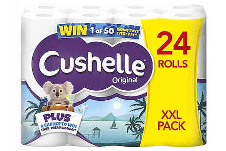 Global Merchant Support - Cushelle Multi Pack Toliet Rolls - Save 50%
