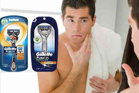 Avant Garde - Gillette fusion proglide razor choose from flexball or silvertouch - Save 59%