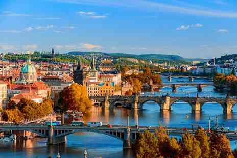 Super Escapes Travel - Two nights luxury Prague stay, breakfast and return flights - Save 20%