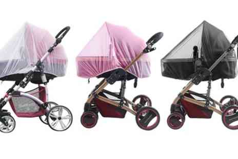 Groupon Goods Global GmbH - One, Two or Three Pram Insect Nets - Save 75%