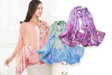 Backtogoo - Chiffon scarf - Save 80%