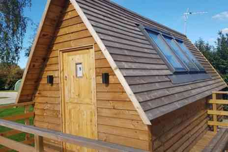 Harrison Holidays - One Night in a Glamping Harripod Up to Four with Summer Dates Available - Save 0%