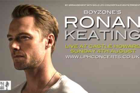 Ronan Keating - One child or adult general admission ticket - Save 9%