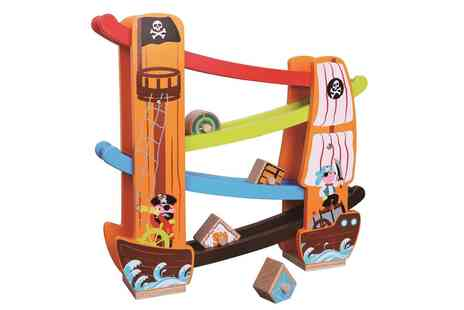 Groupon Goods Global GmbH - Lelin Wooden Pirate Rolling Slope - Save 0%