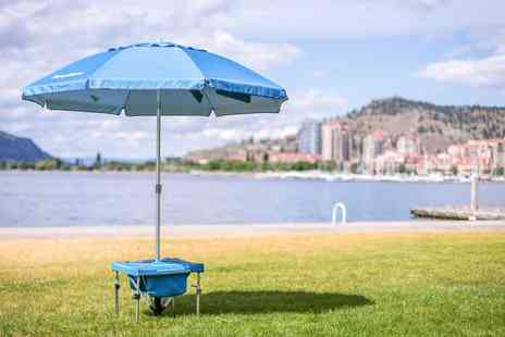 Groupon Goods Global GmbH - Umbrella with Bag, Accessories and Umbrella Station - Save 0%