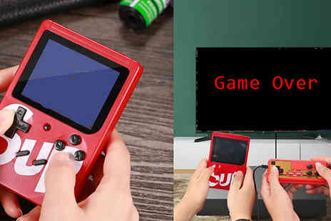 Fantasy Supply - 400 Game Wireless Handheld Game Console - Save 67%