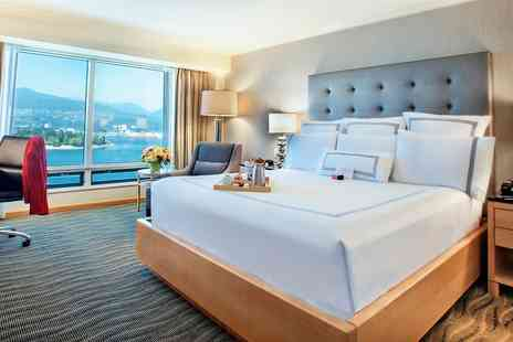 Downtown Vancouver Hotel - Flash Sale on Summer Stays at Iconic Four Star Vancouver Hotel - Save 0%