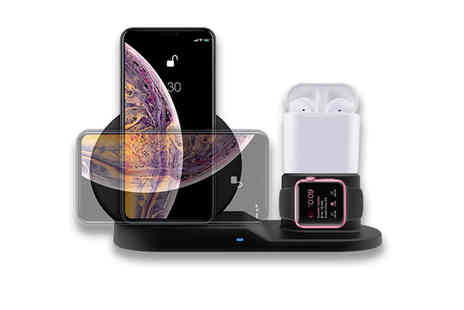 Litnfleek - Apple compatible wireless charging kit - Save 84%