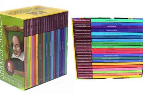 Groupon Goods Global GmbH - Shakespeare Childrens Stories 20 Books with Audio CD Gift Box Set - Save 0%