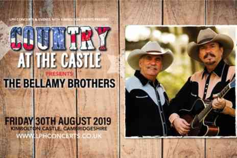 The Bellamy Brothers Live - One child or one or two adult general admission tickets on 30th August - Save 11%