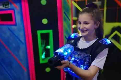 Quasar South Shields - 15 Minute Laser Tag Games for Up to Six - Save 50%