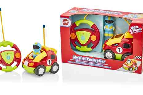 Groupon Goods Global GmbH - My First Remote Control Racing Car with Lights and Sounds - Save 0%