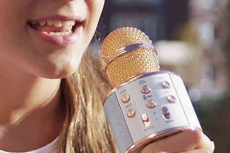 Fantasy Supply - Wireless Bluetooth Karaoke Microphones Choose from Three Colours - Save 78%
