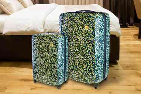 Wowcher Direct - Two piece Revelation by Antler luggage set choose from three different designs - Save 0%