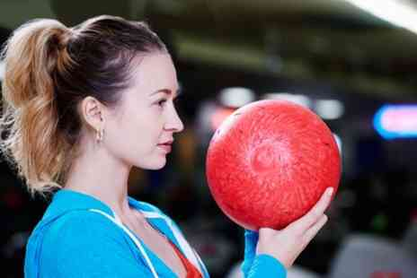 MFA Bowl - One or Two Games of Ten Pin Bowling for Up to Six - Save 43%