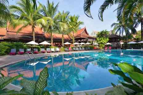 Khaolak Bhandari Resort & Spa - Four Star Relaxed Island Escape Bedecked in Traditional Design for two - Save 80%