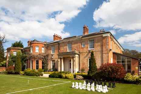 Mercure Newbury Elcot Park Hotel - Four Star Indulgent English Manor Stay in Beautiful Berkshire for two - Save 41%