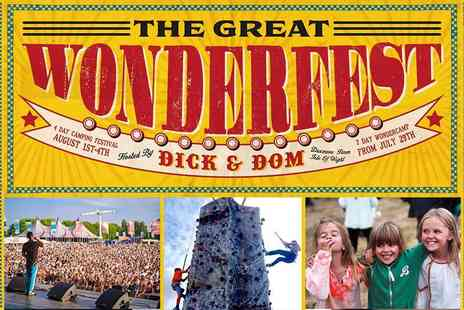 Get Involved Partnerships - Great Wonderfest, Isle of Wight Adventure, Activities and Awesome Family Entertainment, Kids Go Free Plus Up to 20% off Family Tickets - Save 20%
