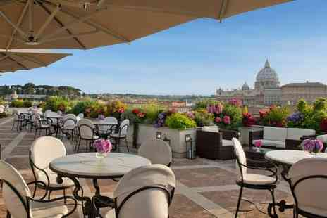 Hotel Atlante Star - Four Star Elegant Hotel with Views of the Vatican for two - Save 78%
