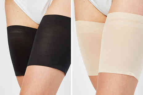 Direct Sourcing Project - Two pairs of Cascabelle anti chafing thigh bands - Save 56%