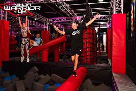 Ninja Warrior UK Wigan - One hour entry for one person take on the ultimate challenge - Save 30%