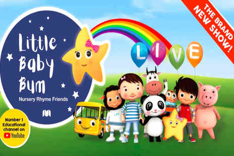 KX Tickets - Band A ticket to Little Baby Bum Live - Save 27%
