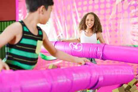 Let Loose Soft Play Centre - Soft Play Entry and Jug of Juice for Two or Four Kids - Save 53%