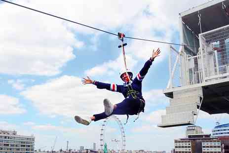 Zip Now London - Exhilarating zip wire experience and free fall jump - Save 17%
