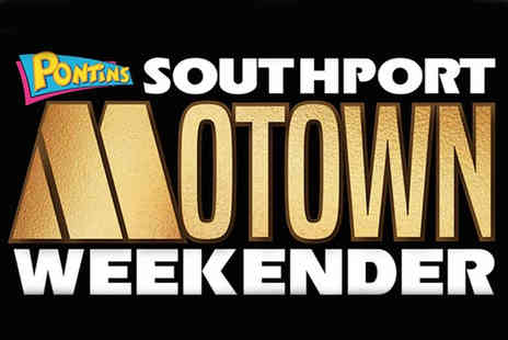 Pontins - Three nights self catered Southport Motown Weekender break for two people with live entertainment - Save 0%