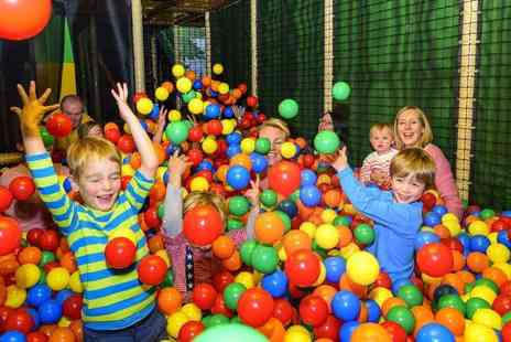 Let Loose - Two hours of soft play for two children with a pizza and drink each - Save 61%