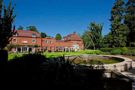 Pinewood Hotel - Overnight Buckinghamshire stay for two people with a two course dinner, breakfast and leisure access - Save 46%