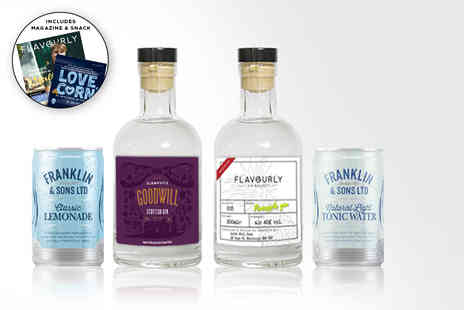 Flavourly - Gin hamper - Save 70%