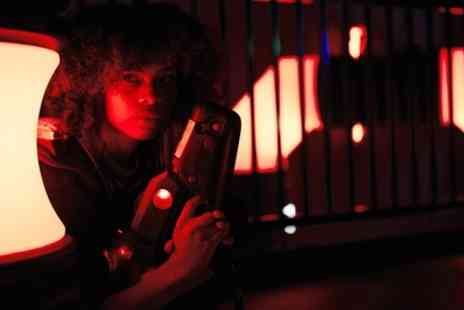 Superbowl - Three Games of Laser Tag for Up to Six - Save 41%