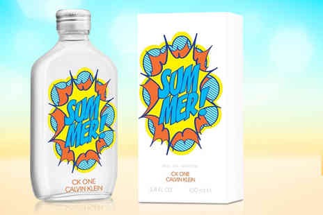 Wowcher Direct - Calvin Klein CK One Summer eau de toilette - Save 54%