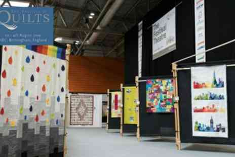 The Festival of Quilts - One adult and one child ticket from 1st To 4th August - Save 49%