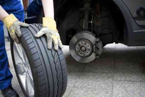 Apex Wheels - Alloy Wheel Smart Repair Service for Up to Four Wheels - Save 43%