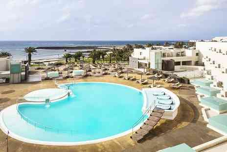 HD Beach Resort & Spa - Four Star All Inclusive Family Escape in Costa Teguise Kids Go Free for two - Save 72%