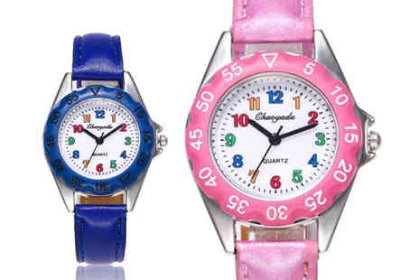 YelloGoods - Kids cartoon watch choose from four colours - Save 0%