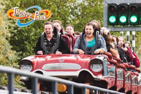 Thorpe Park Resort - Thorpe Park day pass for one person including entry to the Jungle Escape Room experience - Save 47%