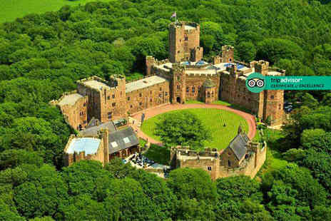 Peckforton Castle - Spa day for one person including two 25 minute treatments and a glass of Prosecco - Save 31%