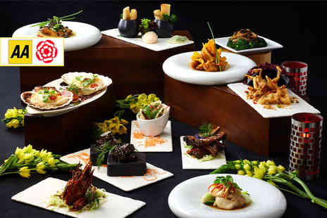 Millennium Knightsbridge - Three course Cantonese dining with a glass of wine each for two people - Save 51%