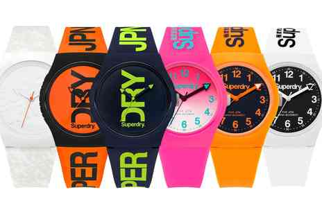 Groupon Goods Global GmbH - Superdry Wrist Watches - Save 0%