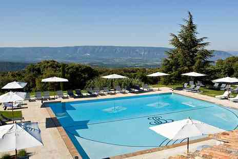 Hotel Les Bories & Spa - Five Star Luxurious Hilltop Villlage Stay for two - Save 49%