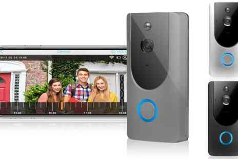 Groupon Goods Global GmbH - Wireless Video Doorbell - Save 0%