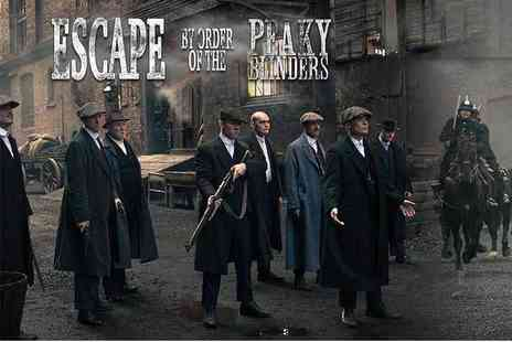 Cannon Raceway - Peaky Blinders themed escape room experience for up to six people - Save 66%